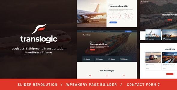 Translogic | Logistics & Shipment Transportation WordPress Theme - Business Corporate