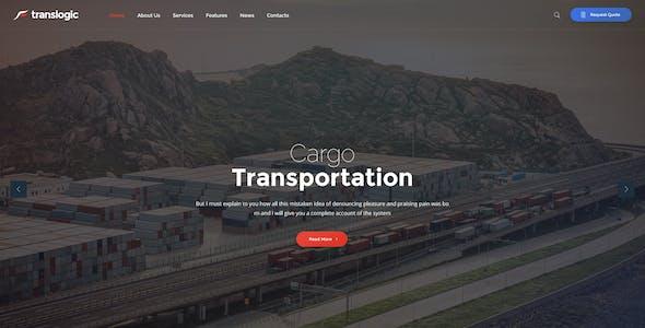 Translogic   Logistics & Shipment Transportation WordPress Theme