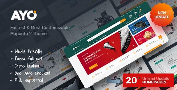 Ayo - Multipurpose Responsive  Magento 2 Theme - Shopping Magento