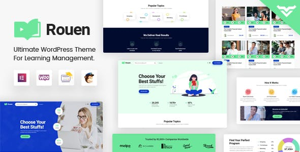 Rouen - An E-learning Education WordPress Theme