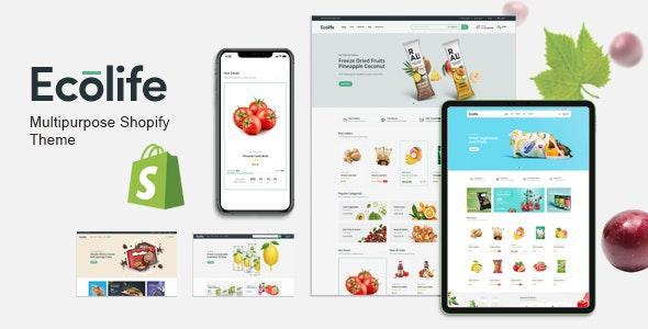 Ecolife - Multipurpose eCommerce Shopify Theme - Shopping Shopify