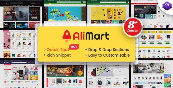 AliMart - Multipurpose Premium Sections Shopify Theme - Shopify eCommerce