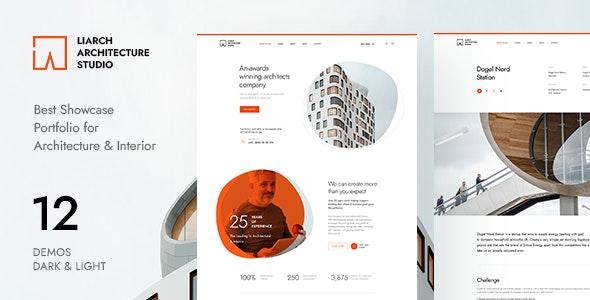 Liarch - Architecture & Interior PSD Template - Portfolio Creative