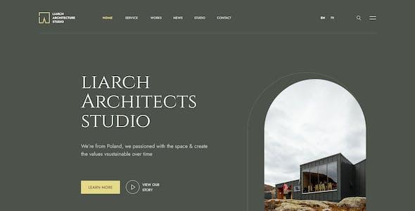 Liarch - Architecture & Interior PSD Template