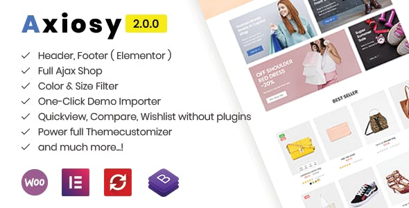 AxiOsy - Multipurpose Fashion WooCommerce Theme