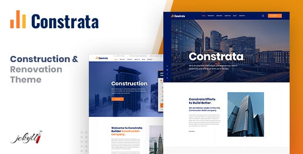 Constrata - Construction & Renovation Jekyll Template