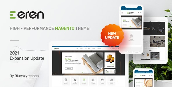 Eren - Magento 2 Responsive Fashion Theme - Shopping Magento