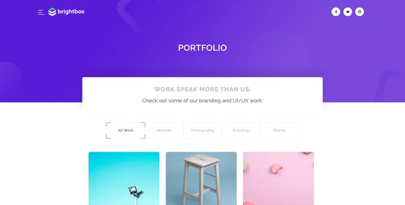 Brightbox - Business Agency Template
