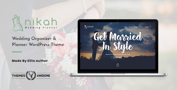 Nikah | Wedding Organizer & Planner - Wedding WordPress