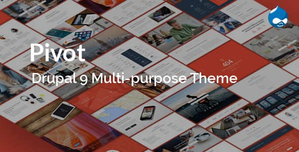 Pivot - Drupal 9 & 8 Multipurpose Theme with Paragraph Builder