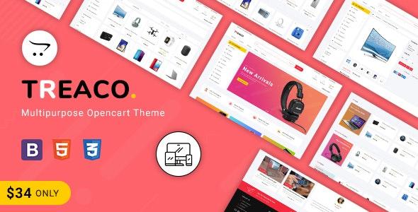 Treaco - Multipurpose E-commerce Opencart 3 Theme - Shopping OpenCart