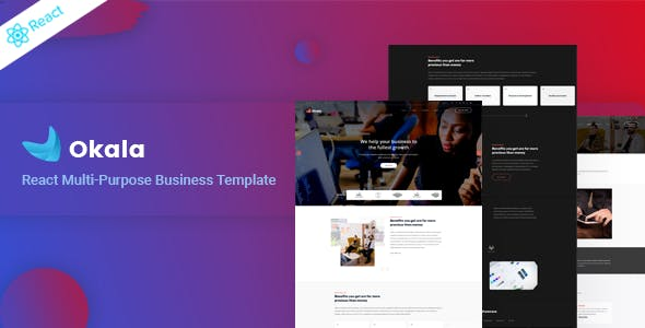 Okala - React Multipurpose Business Template