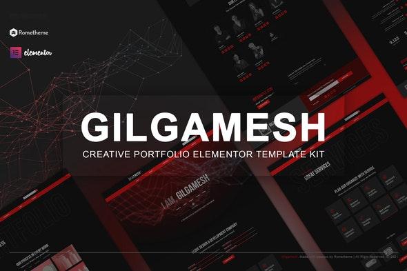 Gilgamesh - Creative Portfolio Elementor Template Kit - Personal & CV Elementor