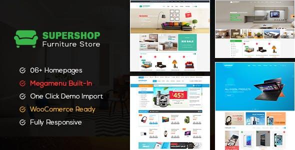 Supershop - Responsive WooCommerce Shopping WordPress Theme (6+ Homepage Layouts Ready)