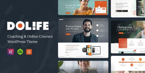 Dolife – Coaching & Online Courses WordPress Theme - Education WordPress