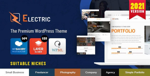 Personal - Best Blog, CV and Video WordPress Theme - 30