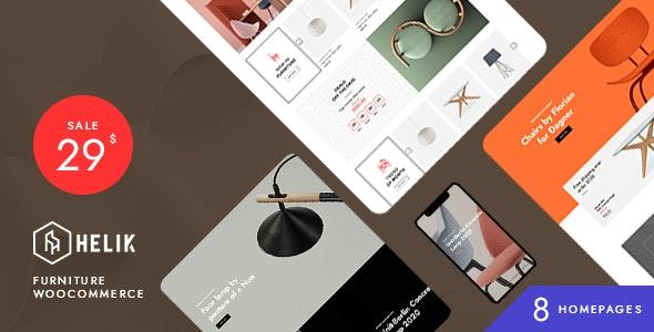 Helik - Furniture WooCommerce Theme - WooCommerce eCommerce