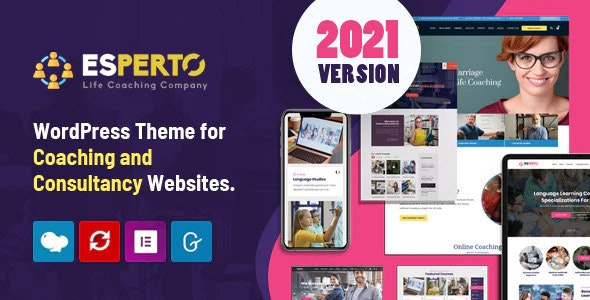 Esperto - A Consultancy and Coaching WordPress Theme - 8