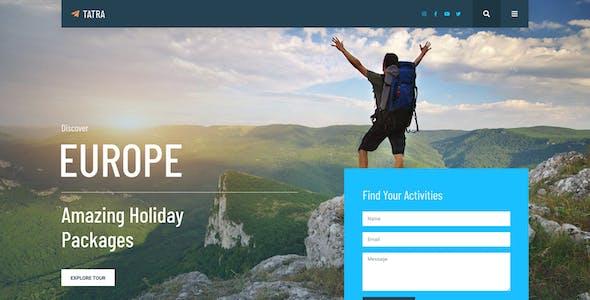 Tatra - Travel Agency Elementor Template Kit