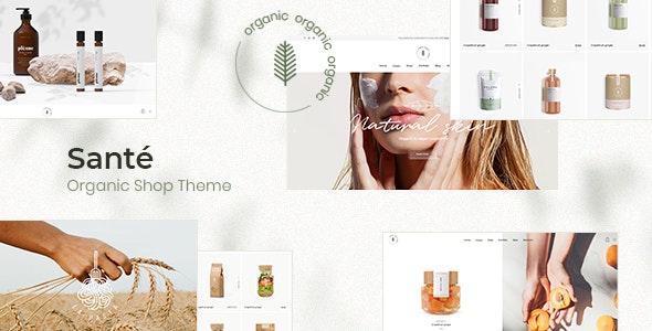 Santé - Organic Shop Theme - WooCommerce eCommerce