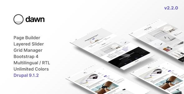 Dawn - Multipurpose Responsive Drupal 9 Theme - Creative Drupal