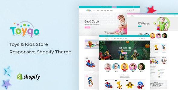 Toyqo - Toys & Kids Store Responsive Shopify Theme - Shopping Shopify