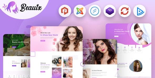 Beautx - Spa Salon & Cosmetic Shop Joomla Template - Health & Beauty Retail