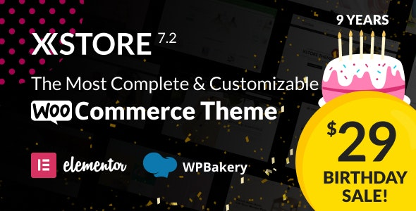 XStore |  Highly Customizable WooCommerce Theme & WordPress - WooCommerce eCommerce