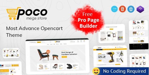 Poco - Advanced OpenCart Theme - OpenCart eCommerce