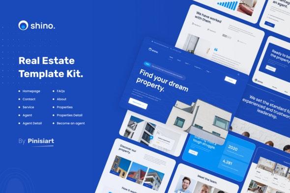 Shino | Real Estate Elementor Template Kit - Real Estate & Construction Elementor