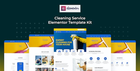 Cserv - Cleaning Service Elementor Template Kit