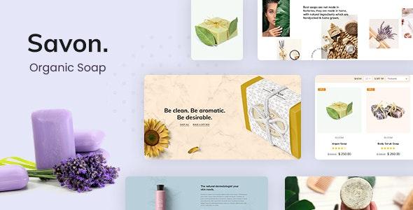 Savon - Handmade, Organic Shop - WooCommerce eCommerce