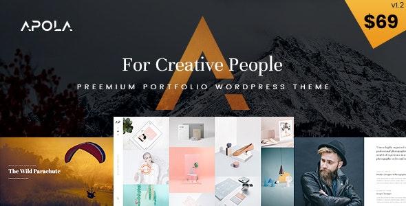 Apola - Photography Portfolio WordPress Theme - Photography Creative