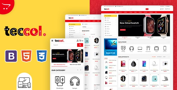 Teccol - OpenCart Multi-Purpose Supermarket Theme - Shopping OpenCart