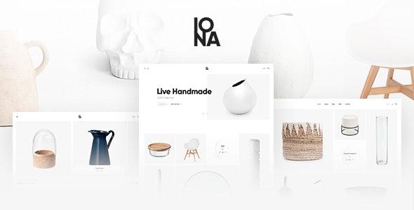 Iona - Handmade & Crafts Shop WordPress Theme - WooCommerce eCommerce