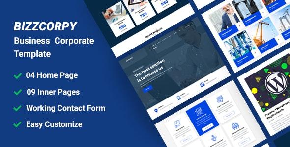 BizzCorpy - Business Corporate HTML Template - Business Corporate