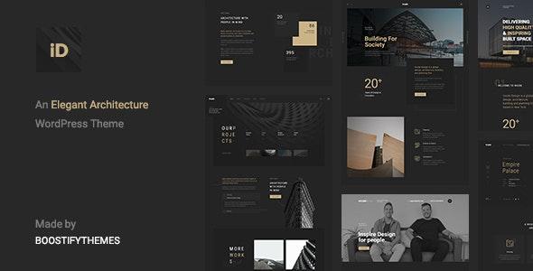 Insidect - Architecture & Interior WordPress Theme - Portfolio Creative