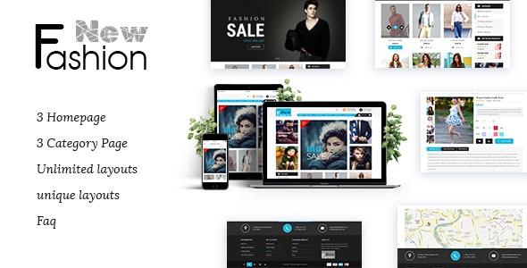 Fashion Multipurpose WooCommerce Theme - WordPress