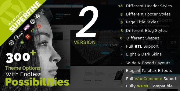 SuperFine - Multipurpose WordPress Theme - Corporate WordPress