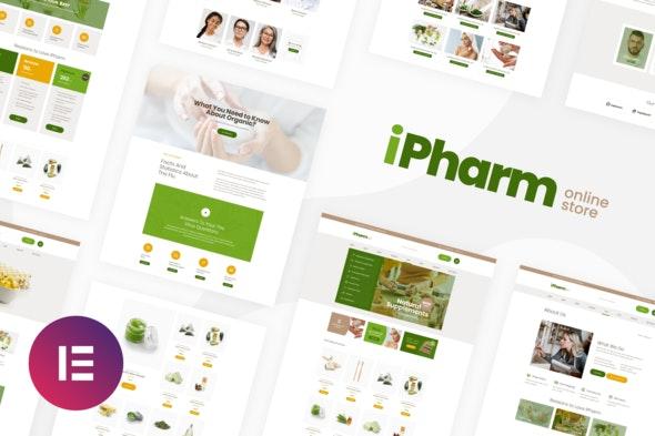 iPharm - Online Pharmacy Woocommerce Elementor Template Kit - Shopping & eCommerce Elementor