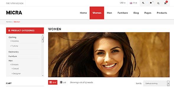 Micra - Multipurpose Responsive WooCommerce WordPress Theme
