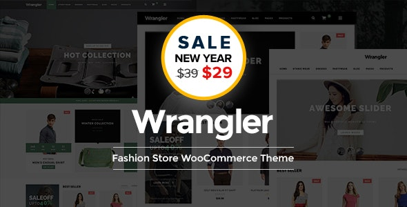 Wrangler - Fashion Store Multipurpose Responsive WooCommerce WordPress Theme - WooCommerce eCommerce