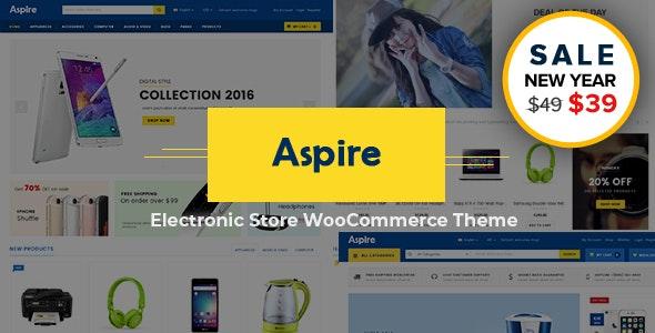 Aspire - Multipurpose Responsive WooCommerce WordPress Theme - WooCommerce eCommerce