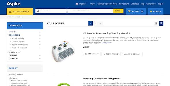 Aspire - Multipurpose Responsive WooCommerce WordPress Theme