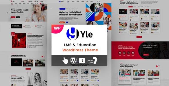 Yle - Education WordPress Theme