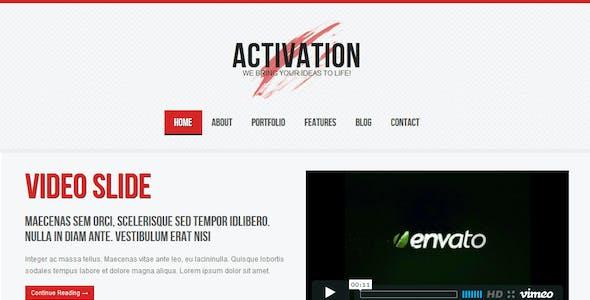 Activation - a Business / Portfolio Template