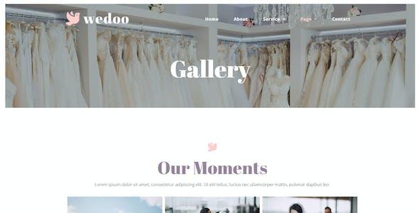 Wedoo - Online Wedding Invitation Elementor Template Kit