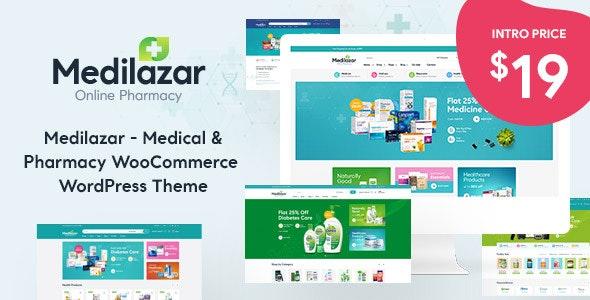 Medilazar - Pharmacy WooCommerce WordPress Theme - WooCommerce eCommerce