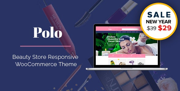 Polo - Beauty Store Multipurpose Responsive WooCommerce WordPress Theme - WooCommerce eCommerce