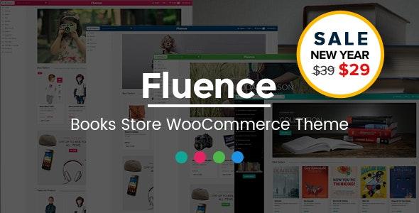 Fluence - Books Store Multipurpose Responsive WooCommerce WordPress Theme - WooCommerce eCommerce